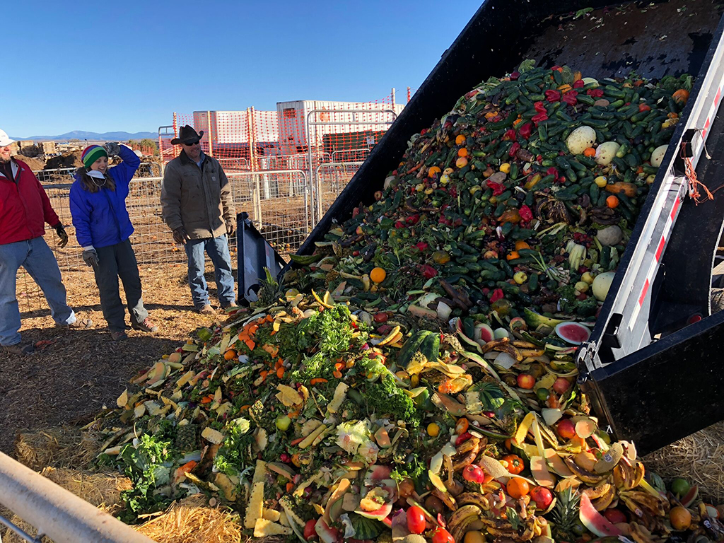 Dumping Food Waste