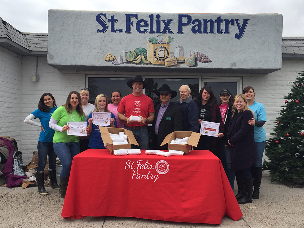 St. Felix Pantry Donation from GGYR