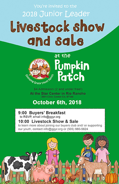 Livestock Show at the Pumpkin Patch